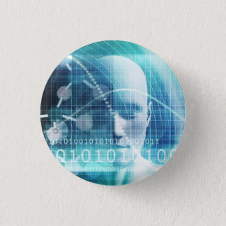 Science Education and Developing Scientists 3 Cm Round Badge