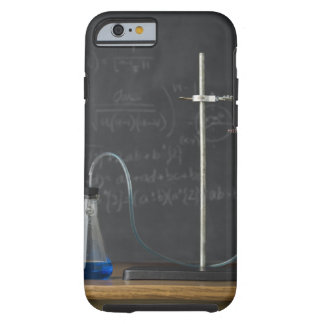 Science experiment in front of blackboard tough iPhone 6 case