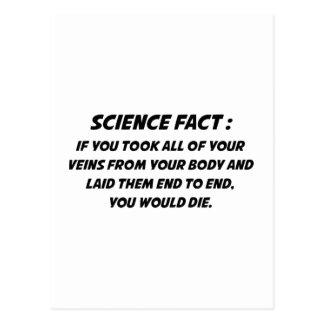 Science Fact Postcard