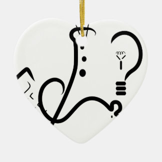 Science Fair Logo Ceramic Ornament