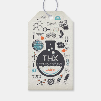 Science Favour Tag - Mad Scientist Party