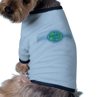 Science Fiction 3D Alien Virus Doggie Tee