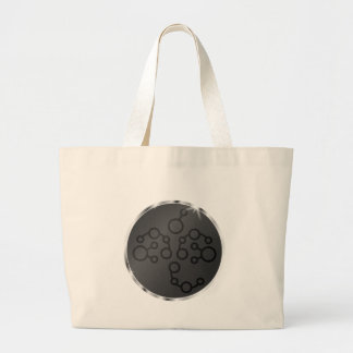 Science Fiction Alien Circle Tote Bags