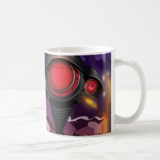 Science Fiction Alien Tripod Attack! Basic White Mug