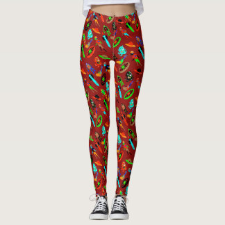 SCIENCE FICTION AND SPACE by Jetpackcorps Leggings