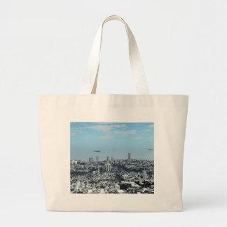 Science Fiction Cityscape Bags