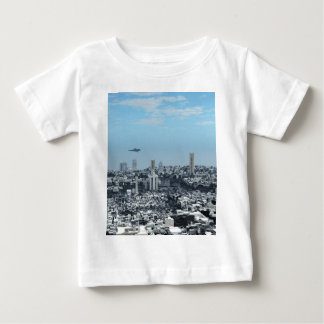 Science Fiction Cityscape Tee Shirt