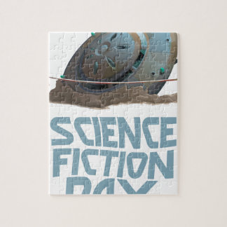 Science Fiction Day - Appreciation Day Jigsaw Puzzle