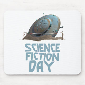 Science Fiction Day - Appreciation Day Mouse Pad