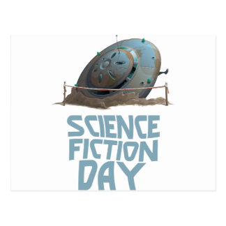 Science Fiction Day - Appreciation Day Postcard
