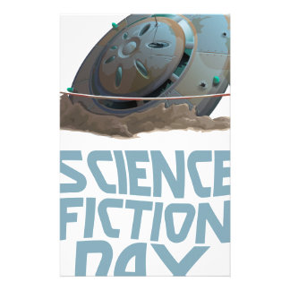 Science Fiction Day - Appreciation Day Stationery