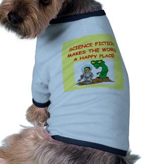 science fiction dog shirt