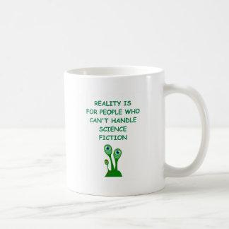 science fiction coffee mug