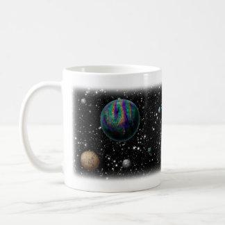 Science fiction planets mug