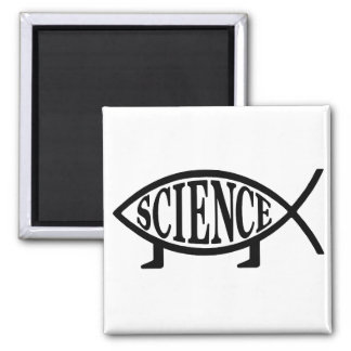Science Fish Magnet