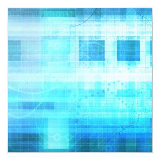 Science Futuristic Internet Computer Technology Card