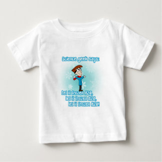 Science Geek Says: Let it Frozen H2O! Shirt
