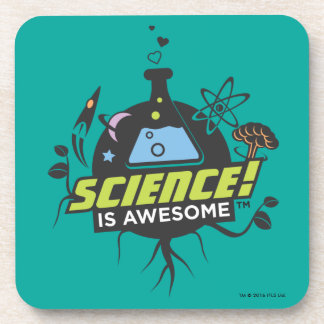 Science Is Awesome Beverage Coaster