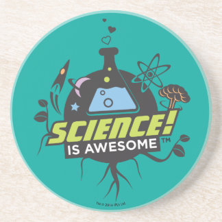 Science Is Awesome Drink Coaster