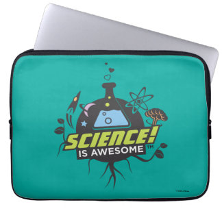Science Is Awesome Laptop Sleeve
