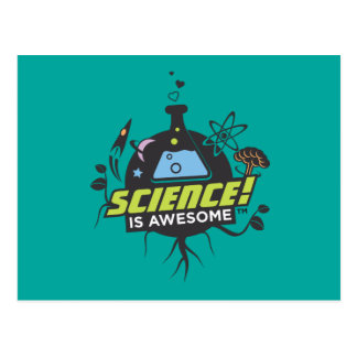 Science Is Awesome Postcard