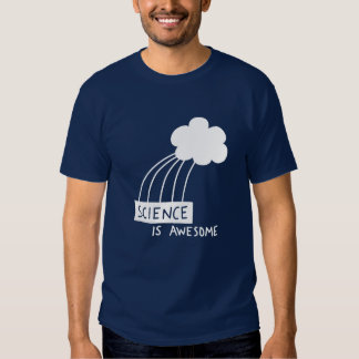 Science Is Awesome (white) T-Shirt