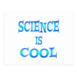 Science is Cool Postcard