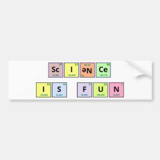 Science is Fun bumper sticker