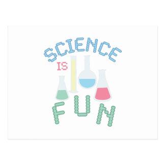 Science is Fun Postcard