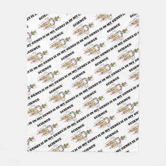 Science Is In My Genes DNA Replication Fleece Blanket