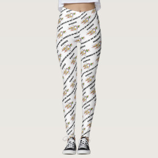 Science Is In My Genes DNA Replication Humor Leggings