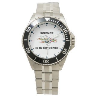 Science Is In My Genes DNA Replication Wristwatches