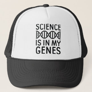 Science Is In My Genes Trucker Hat