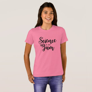 Science is my Jam Kid's Shirt