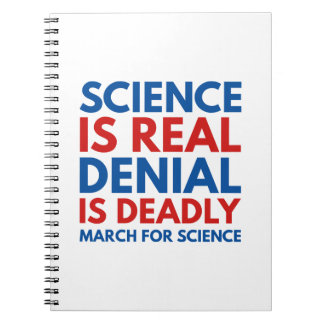 Science Is Real Note Book