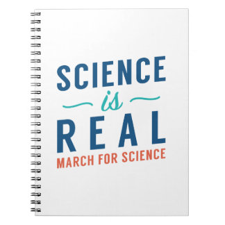 Science Is Real Spiral Notebook