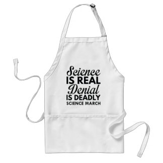Science Is Real Standard Apron