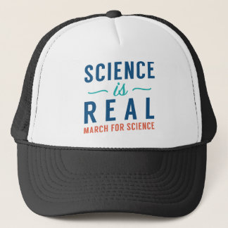 Science Is Real Trucker Hat
