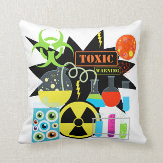 Science Lab Pillow Cushions
