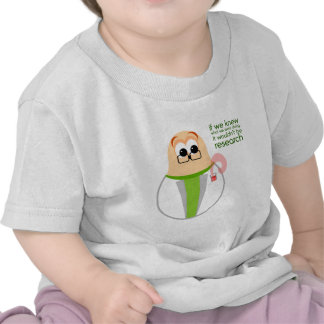 Science Lab Researcher Baby Tee Shirt