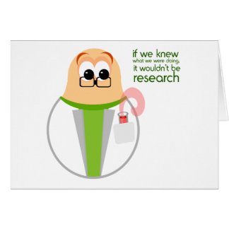Science Lab Researcher Card