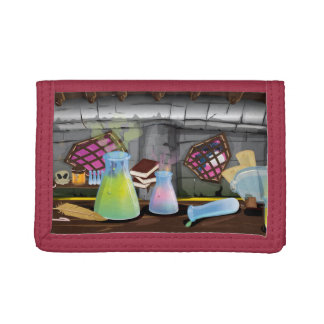 Science Laboratory Trifold Wallet