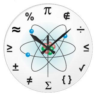 Science Large Clock
