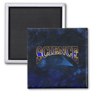 Science Magnet with Space Background