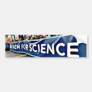 Science March Bumper Sticker