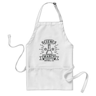 Science March Standard Apron