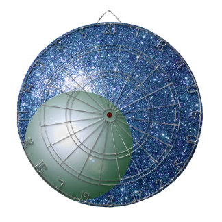 Science Planet Space STEM Darts Geeky Universe Dartboard