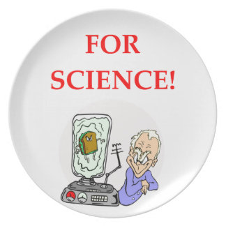science plate