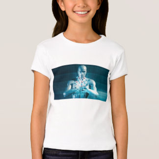 Science Research as a Molecule Concept T-shirts