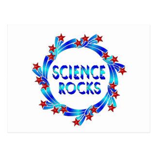Science Rocks Fun Postcard